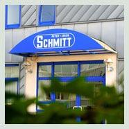 P. + E. Schmitt Eingangstür