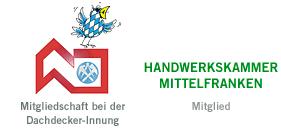 Dachdecker-Innung Handwerkskammer Mittelfranken Logo